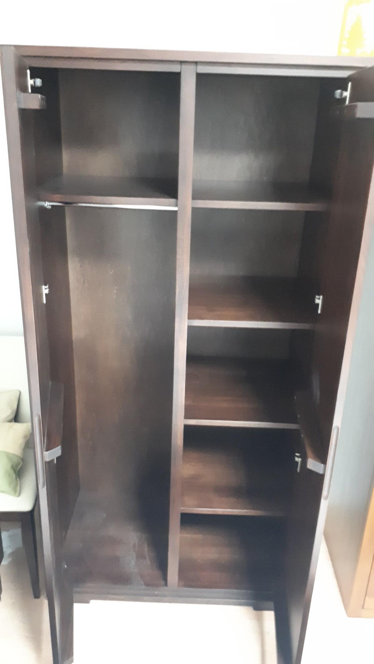 wnętrze szafy przykładowe