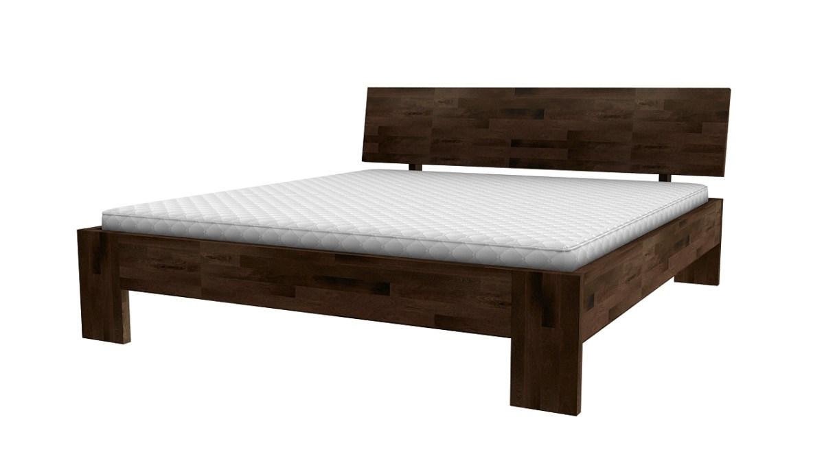 łoże z drewna