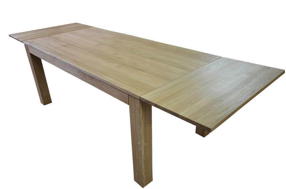 stół dębowy kolor naturalny rozkładany