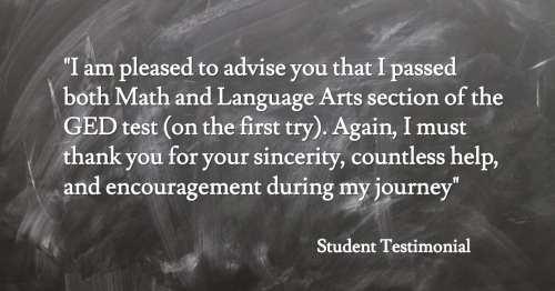 Student Testimonial