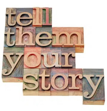 tell story blocks