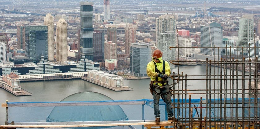 trade center shoring project nyc