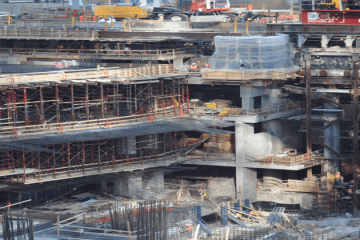 3 world trade center shoring project