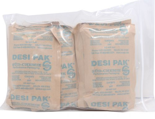 Military Clothing and Desiccant Packs