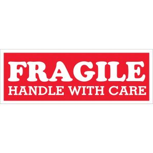 Fragile Handle With Care Label