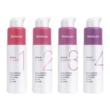 StriVectin anti-wrinkle SKIN RESET 4-Week Intensive Rejuvenation System (4 x 9 ml / 0.3 fl oz)
