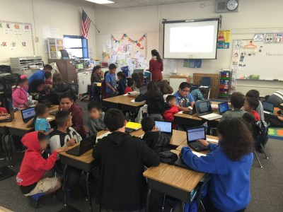 6th Graders Signing Up 3rd Graders for Khan Academy