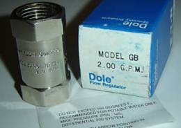 Dole Flow Regulators