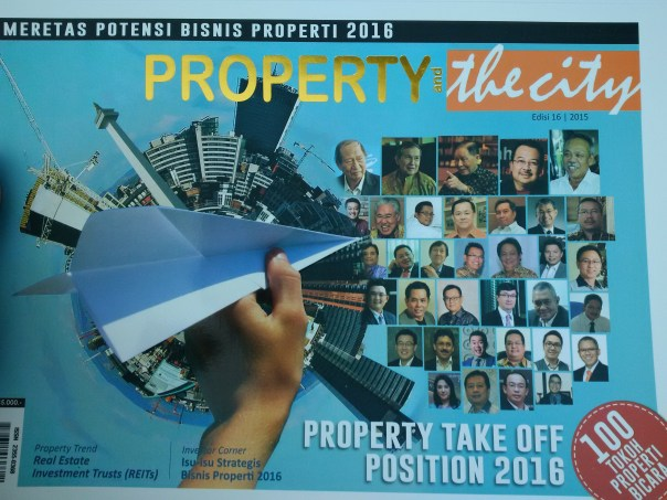 Eddy Leks featured in Property and the City magazine as one of 100 property figures in Indonesia