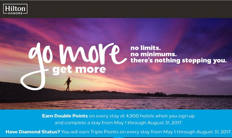 hilton double triple points