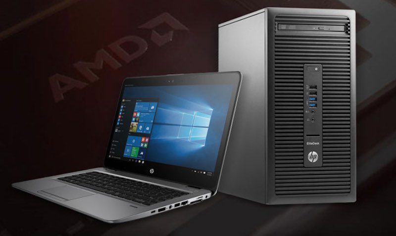 Get an extra 10% off $510+ Business HP PCs Powered by AMD!