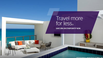 35% Off SALE on SPG Points from Points.com