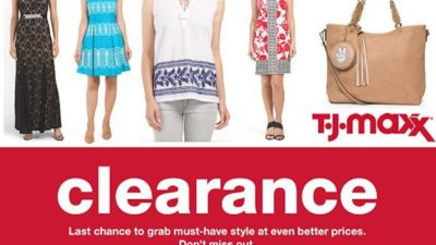 Under $30 Winter CLEAREANCE Event at TJ Maxx