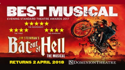 Bat Out Of Hell SALE at Ticketmaster
