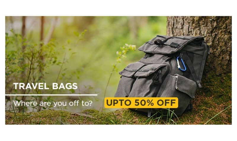 50 SAR Off Promo Cod on Travel and Luggage at Wadi.com