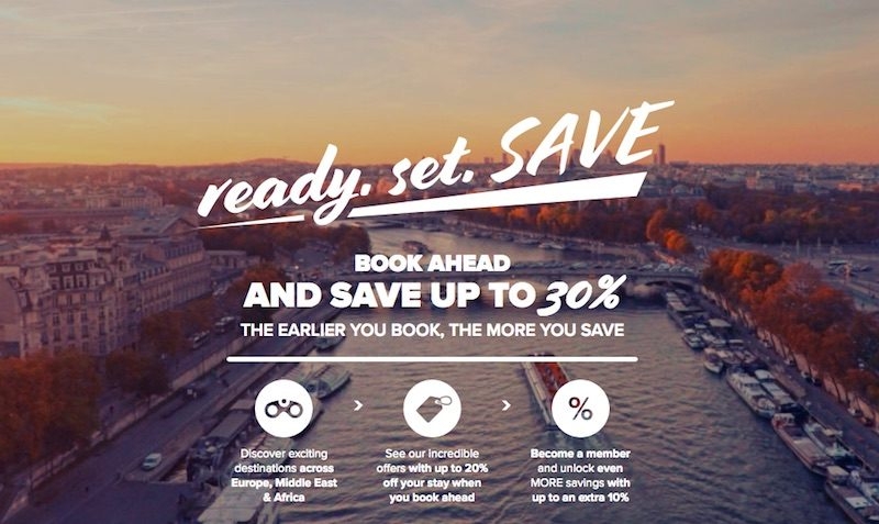 BOOK AHEAD AND SAVE UP TO 30%