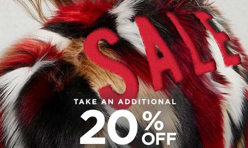 EXTRA 20% Off Promo Code at French Connection Canada