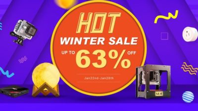 Upto 65% Off Winter SALE at TomTop