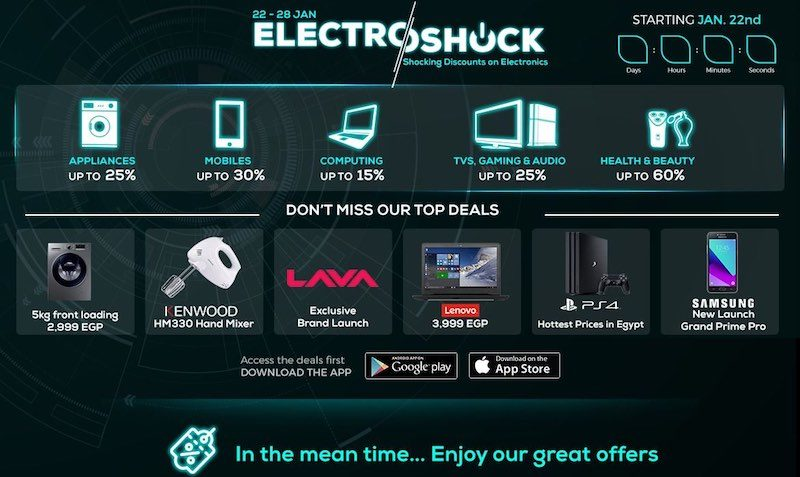 Electroshock DEALS at JUMIA