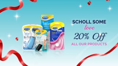 20% Off All Product Scholl