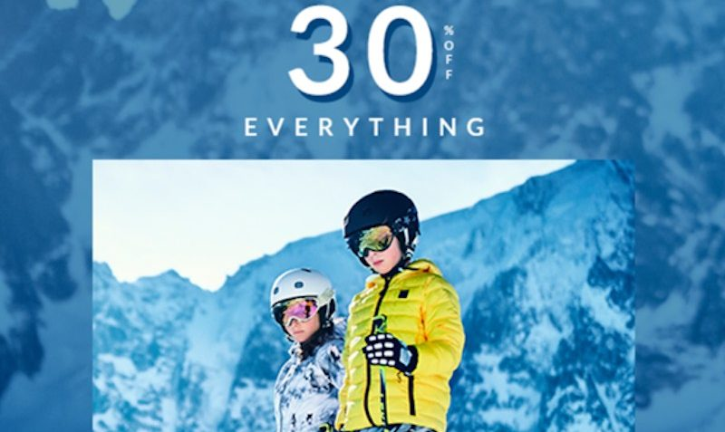 30% Off Ski SALE at Alexandalexa