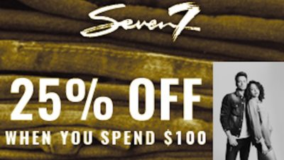 25% Off Discount SALE at Seven 7 Jeans