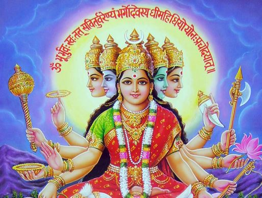 gayatri mantra meaning in hindi