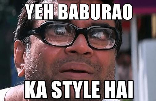 Baburao Dialogues