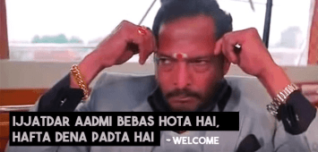 Welcome Movie Dialogues