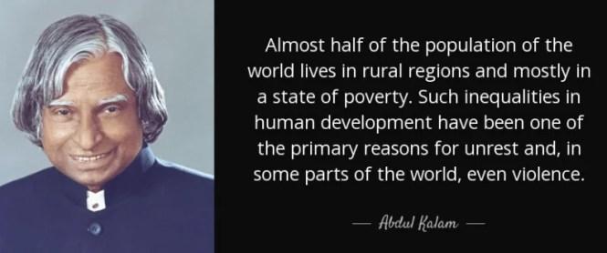 Abdul Kalam On Population