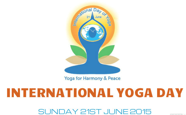 Logo of World yoga day
