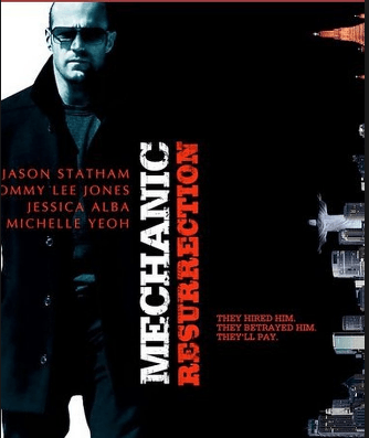 Mechanic Resurrection movie poster