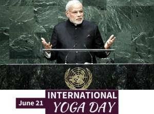 Narendra modi declare 21 june yoga day