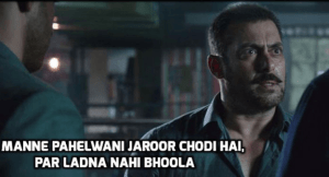 Salman Dialogues From Sultan