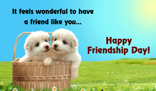 BFF Friendship Card