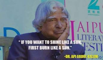 Abdul kalam thoughts on getting success