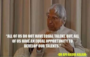 abdul kalam message  for youth