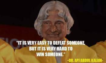 Apj Abdul kalam on what is important