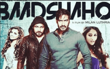 Badshaho movie first look poster