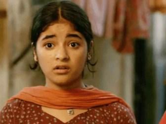 Zaira Wasim in secret superstar movie