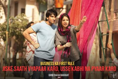 Ranveer Singh dialogues in movie Band Baaja Baaraat