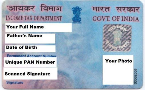 Know Your Pan Card Details