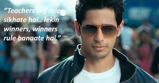 Attitude Dialogue of Student of the Year by Sidharth Malhotra