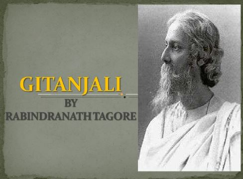 Gitanjali - Poem by Rabindranath Tagore