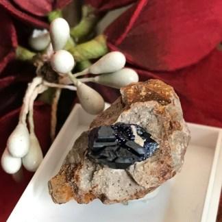azuriet ruw gesteente