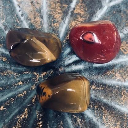 mookaiet jaspis trommelstenen mineralen
