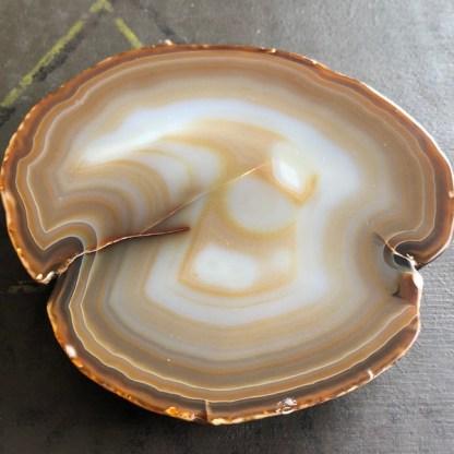 agaat plak naturel gepolijst mineralen brazilie