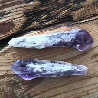 amethist kathedraal ruw punt mineralen