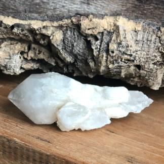 candle kwarts ruw punt bergkristal mineralen
