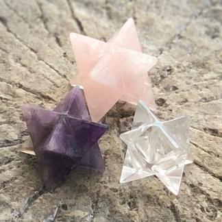 de gouden driehoek merkaba gepolijst mineralen